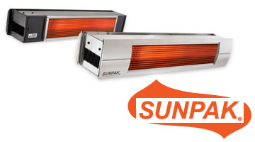 SUNPAK INFRARED HEATERS