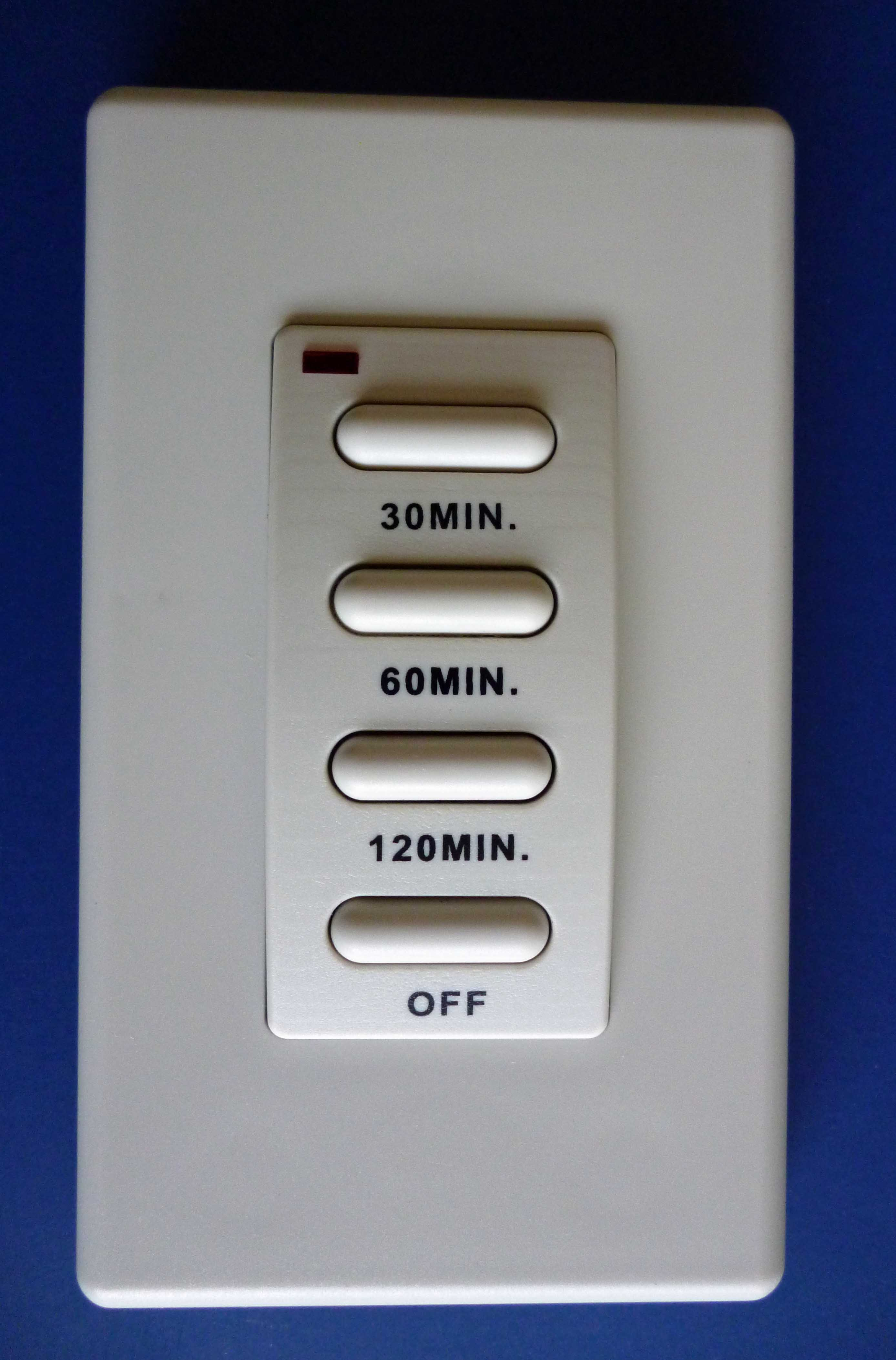 OPTIONAL WALL TIMER #92007
