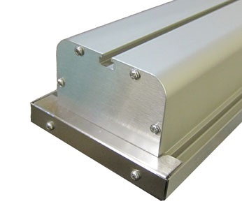 SILVER ALUMINUM HOUSING