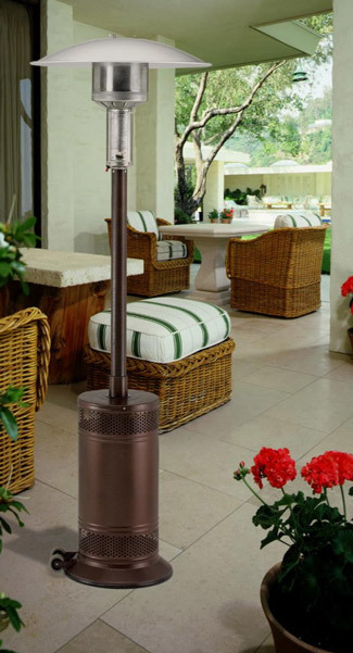 infrared mushroom patio heater